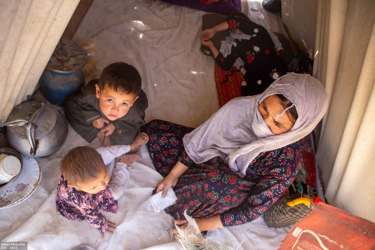 Foto Afganistani Punane Poolkuu 2021
